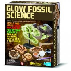 4M Fluoreszkáló régészeti játék - Tudomány és kreatív játék - Dínós játékok