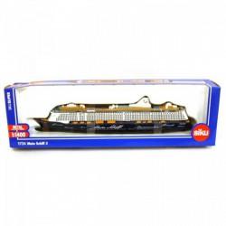 SIKU - 1724 Mein Shiff 3 óceánjáró hajó 1:1400 Játék