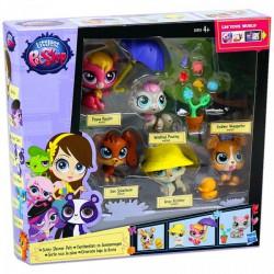 Littlest PetShop - 5 darabos Picurka készlet - park Játék - Lányos játékok