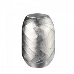 Herlitz - Tojáskötöző 15mx8mm ezüst, anyagában mintás felülettel Ajándéktárgy - Ünnepi meglepik