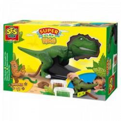 SES - Gyurma szett T-rex Játék - Dínós játékok