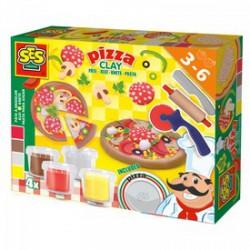 SES - Pizza készítő gyurmakészlet Játék - SES kreatív játékok