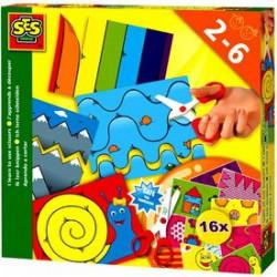 SES - Már tudok ollóval vágni készlet Játék - SES kreatív játékok
