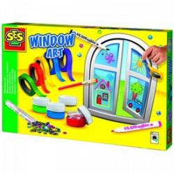 SES - Ablakdekorációs készlet Játék - SES kreatív játékok