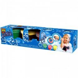 SES - Fürdőszobai ujjfesték - 4 x 120 ml Játék - SES kreatív játékok