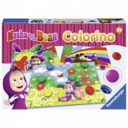 Ravensburger - Masha junior Colorino társasjáték - Kirakók, puzzle-ok - Kirakók, puzzle-ok