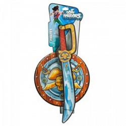 Kalóz és lovag kard és pajzs Játék - Játék fegyverek