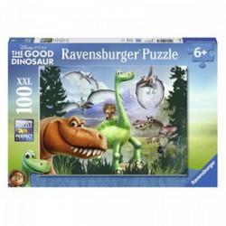 RAVENSBURGER - Puzzle 100 db - Dínó Tesó Játék - Dínós játékok
