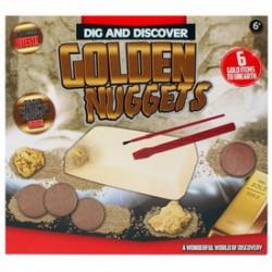 Régész játék - aranyrögök - Tudomány és kreatív játék - Dínós játékok