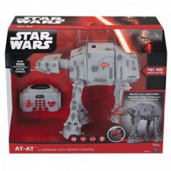Star Wars - távirányítós AT-AT birodalmi lépegető - 25 cm Játék - Star wars játékok