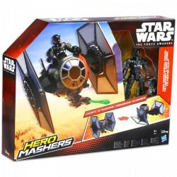 Star Wars - Hero Mashers Az ébredő erő - TIE vadász és pilóta - Star wars játékok - Star wars játékok Star Wars