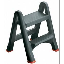 CURVER - Összecsukható létra, 2 lépcsőfokos, műanyag, CURVER Kert, háztartás - Létrák, fellépők