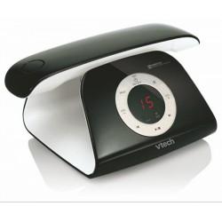 VTECH - Telefon, vezeték nélküli, fekete-fehér - Telefonok