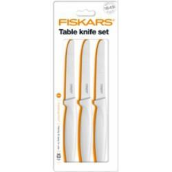 Fiskars Functional Form asztali kés készlet, fehér színű, 3db-os (200162) - FISKARS kések - Fiskars Fiskars