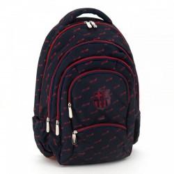 Barcelona tinédzser hátizsák 5 rekeszes - 94777291 Táska, sulis felszerelés - FC Barcelona