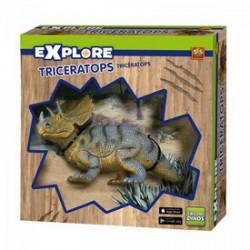 SES - Explore Triceratops dínó készlet Játék - Dínós játékok