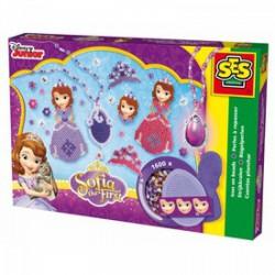 SES - Vasalható gyöngy szett 1600 darabos- Szófia hercegnő - SES kreatív játékok - SES kreatív játékok