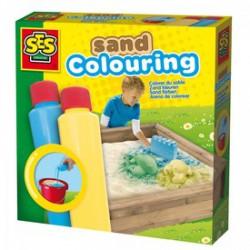 SES - Homokszínező 2x200ml, kék-sárga Játék - SES kreatív játékok