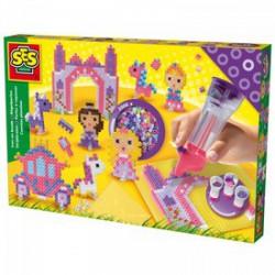 SES - Hercegnős vasalható gyöngy 2000 darabos készlet Játék - SES kreatív játékok