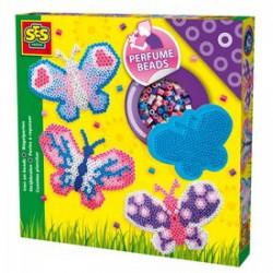 SES - Vasalható gyöngy szett - pillangós Játék - SES kreatív játékok