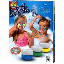 SES - Fürdőszobai arcfestő készlet Játék - SES kreatív játékok