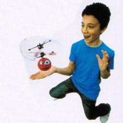 Chopperball repülő helikopter labda - piros Játék