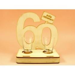 60. születésnapra pohár szett -Vicces meglepik - Születésnapi ajándékok