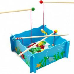 Mágneses horgászjáték - Fajátékok fiúknak - Fajátékok Fakopáncs