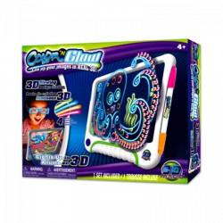 Color N Glow világító rajztábla 3D szemüveggel - Color N Glow kreatív játékok - Color N Glow kreatív játékok