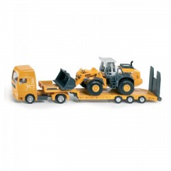 SIKU 1839 kamion tréler markolóval 1:87 - SIKU modellautók - Pályák, kisautók Siku