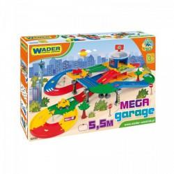 Wader - Kid Cars 3D Garázs játszóterülettel (5,5m) 53130 - Wader játékok - Bébijátékok