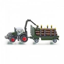 SIKU 1861 rönkszállító traktor 1:87 - SIKU modellautók - Pályák, kisautók Siku
