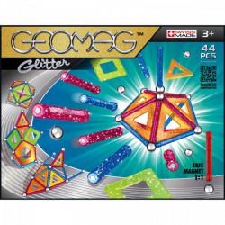 Geomag Glitter Csillámos mágneses építőjáték készlet paneles - 44 darabos - Geomag építőjátékok - Építőjátékok Geomag