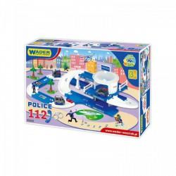 Wader - Rendőrségi 112 autópálya (3,8m) 53320 - Wader játékok - Bébijátékok