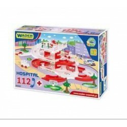 Wader Kid Cars 3D Kórház 112 autópálya (4,8m) 53330 - Wader játékok - Bébijátékok Wader
