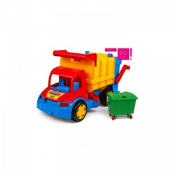 Wader - Óriás kukás autó - Wader játékok - Bébijátékok