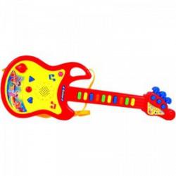Műanyag gitár (zenél, világít) - 97608 - Játék hangszerek - Játék hangszerek