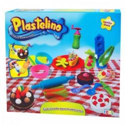 Plastelino - Cukrászda gyurmakészlet Játék - Plastelino gyurmák
