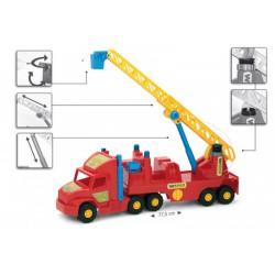 Wader Szuper kamion tűzoltóautó - Wader játékok - Bébijátékok Wader