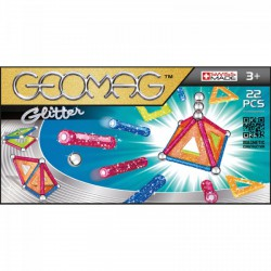 Geomag Glitter 22 darabos csillámos mágneses építőjáték készlet - Geomag építőjátékok - Építőjátékok Geomag