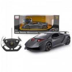 Rastar Távirányítós autó 1:24 Lamborghini Sesto Elemento RASTAR - Pályák, kisautók Rastar