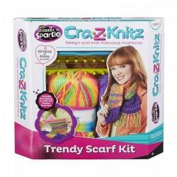 Cra-Z-Knitz Trendi Csajszi Sál Design - Cra-Z-Knitz kreatív játékok - Cra-Z-Knitz kreatív játékok Cra-Z-Knitz