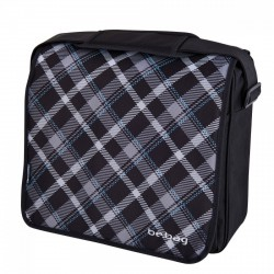 Herlitz - Oldaltáska be.bag Black Checked - Herlitz