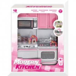Konyha játékszett mikróval és mosogatógéppel - Lányos játékok - Konyhák