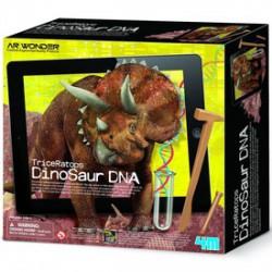 4M - Triceratops DNS készlet - Tudomány és kreatív játék - Dínós játékok