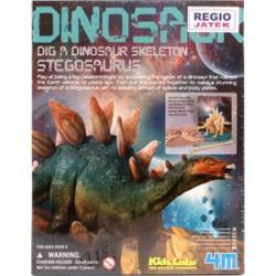 4M - dinoszaurusz régész készlet - Stegosaurus - Tudomány és kreatív játék - Dínós játékok
