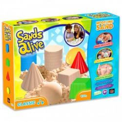 Sands Alive modellező homok - klasszikus formák, 450 g - Sands Alive készletek - Kerti és vízes játékok Sands Alive