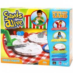 Sands Alive modellező homok - pizza party, 675 g - Sands Alive készletek - Kerti és vízes játékok Sands Alive