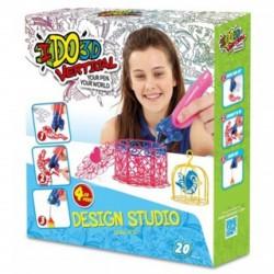 I do 3D Vertical rajzoló szett 4 tollal - lányos - I do 3D kreatív játékok - I do 3D kreatív játékok I do 3D