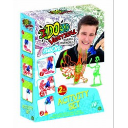 I do 3D Vertical rajzoló szett 2 tollal - neon - I do 3D kreatív játékok - I do 3D kreatív játékok I do 3D